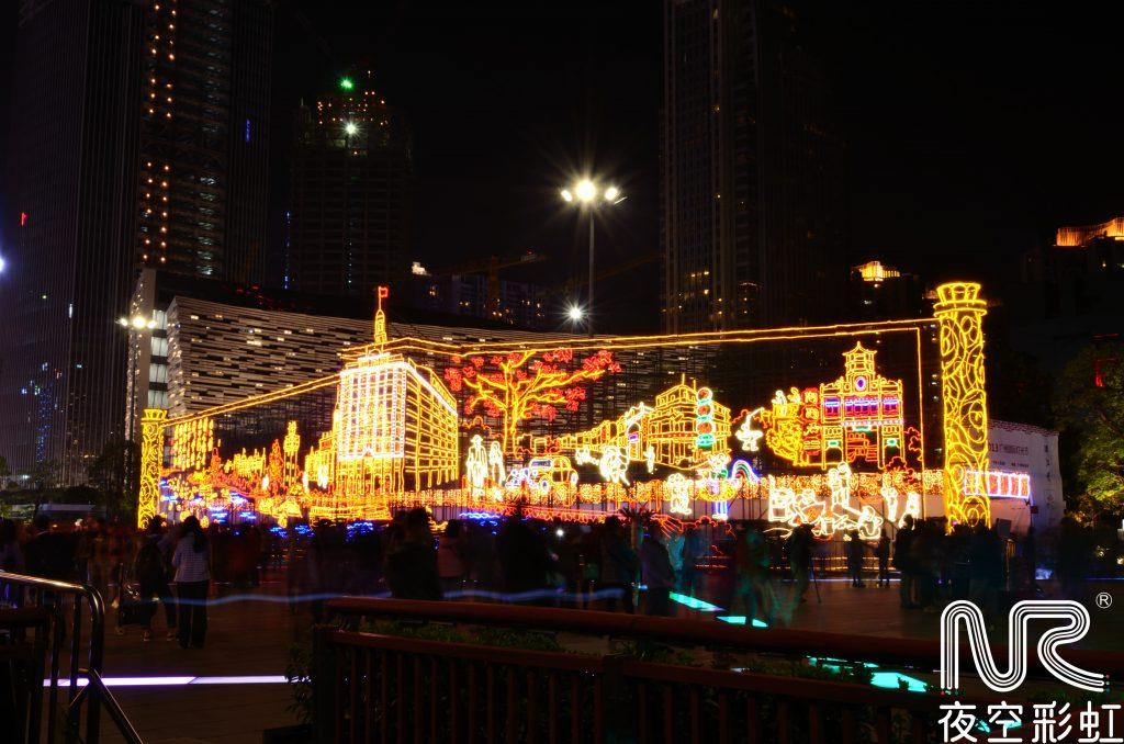 城市圣诞广场亮化环境须知