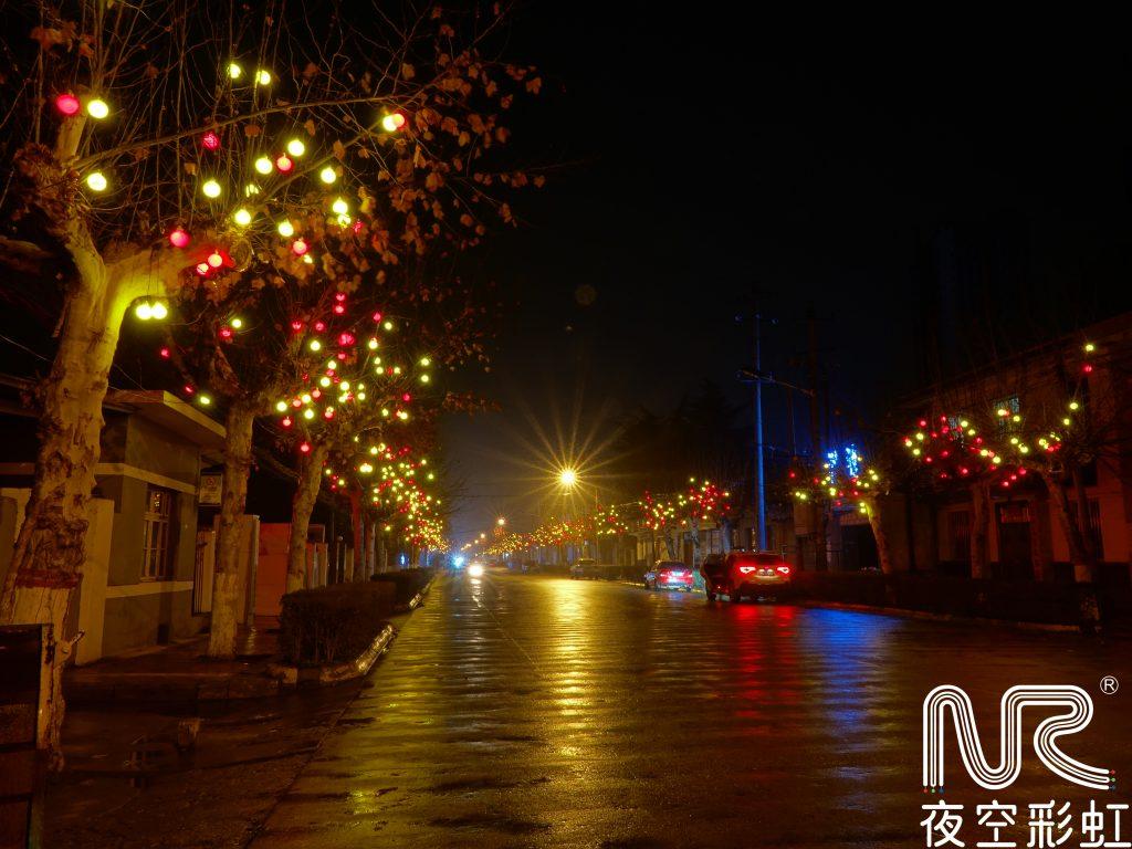 圣诞广场亮化